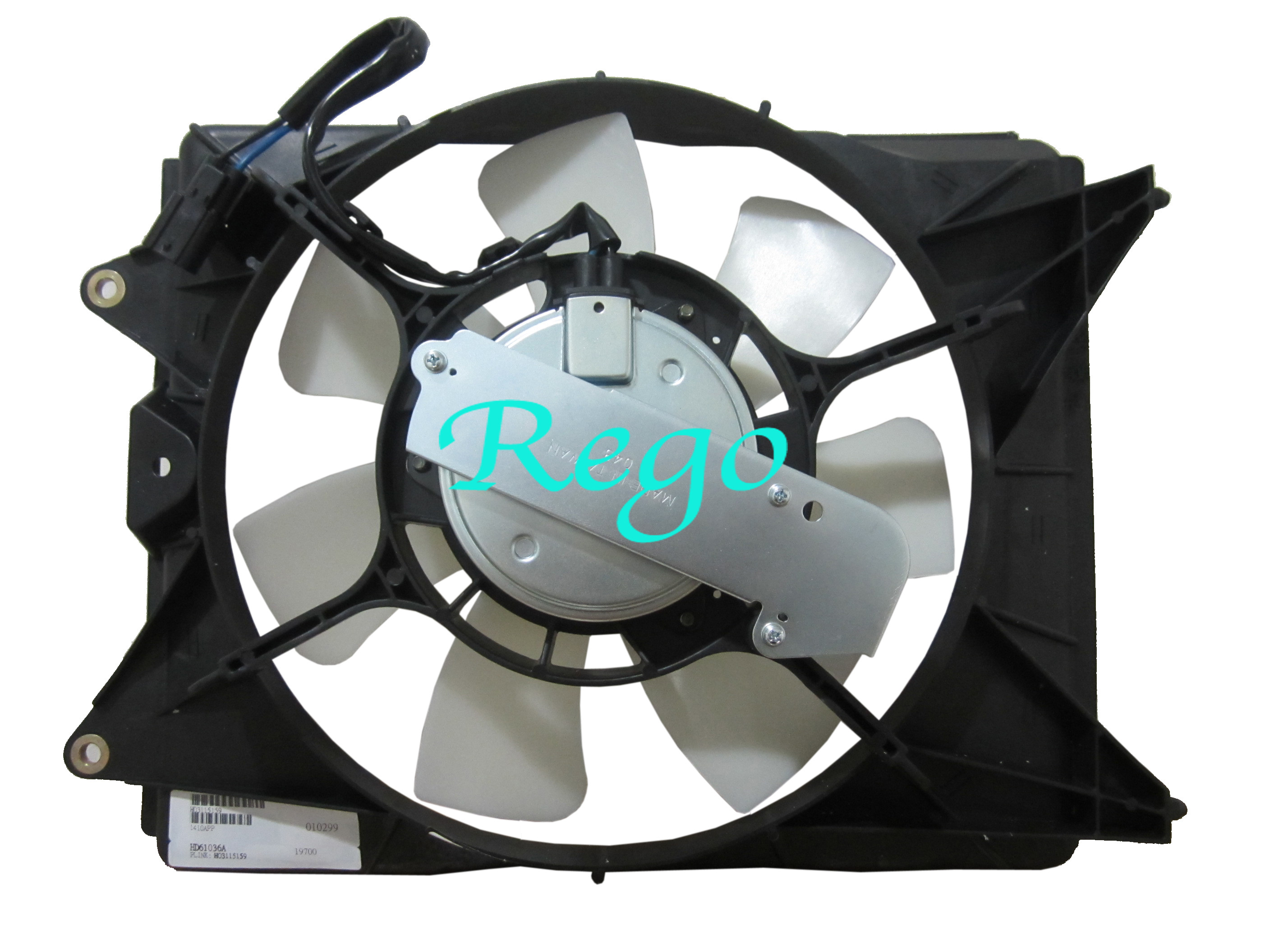 New Cooling Fan Assembly Coupe Sedan for Honda Civic 2006-2011