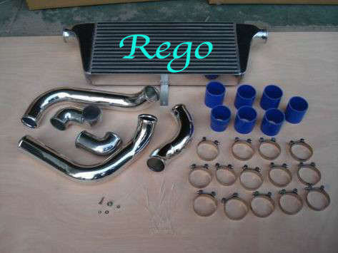 Front Mounted Air To Water Intercooler For Toyota Chaser JZX100 With Piping Kits