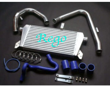 High Performance Twin Turbo Auto Intercooler Kit , Precision Diesel Turbo Intercooler
