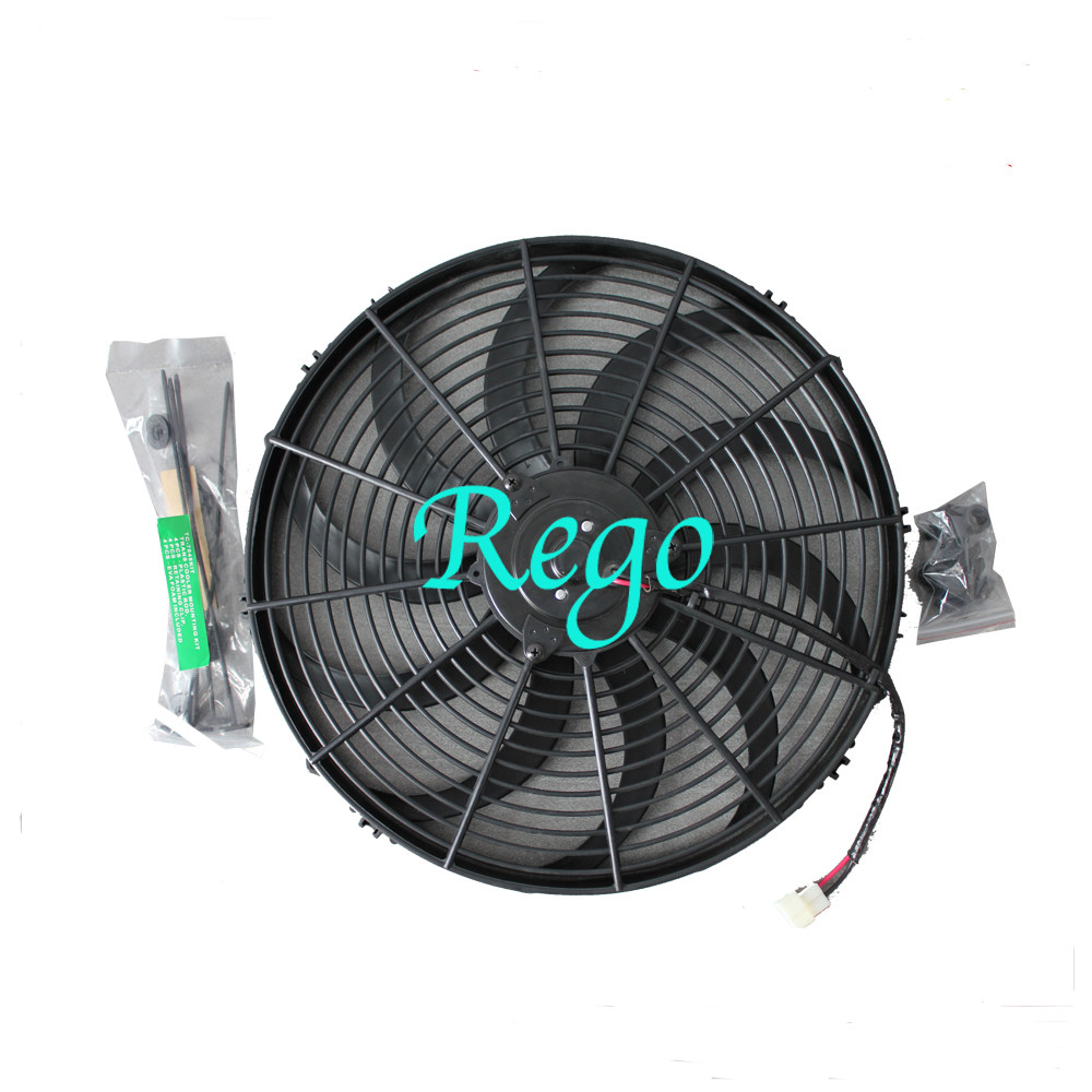 Universal Fit Car Radiator Electric Cooling Fans Brazed