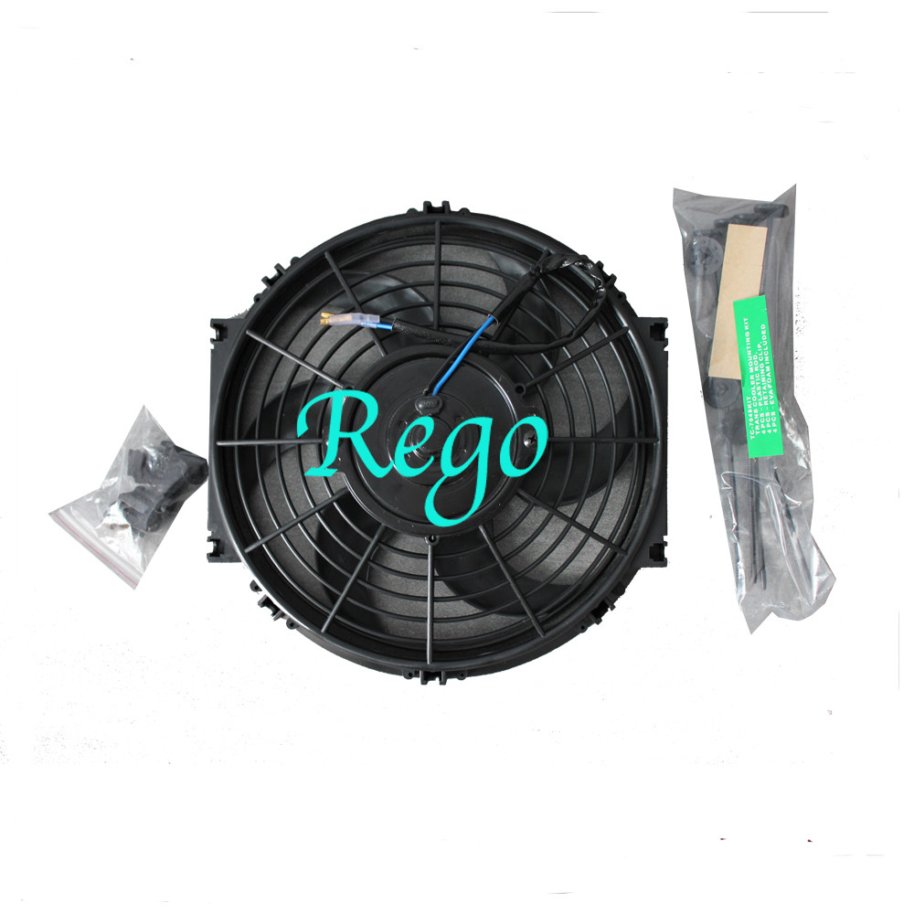Universal Electric Radiator Cooling Fans For Automobile Cars High Performance