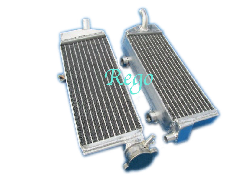 High Strength Custom Brazd Aluminum Motorcycle Radiator For KTM SXF250 2007