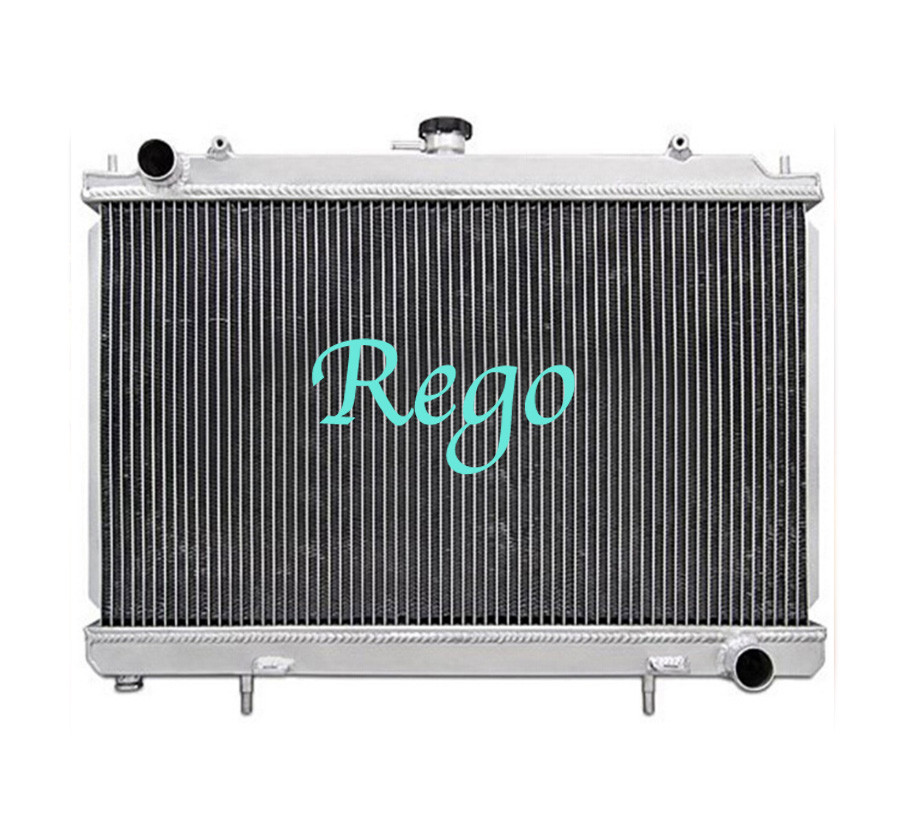 At / Mt Cooling Aluminum Motorcycle Radiator For Nissan 240sx 1995 - 1998 At