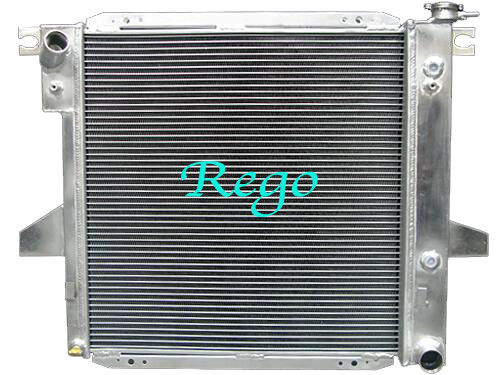 High Performance Racing Aluminum Car Radiators For Ford Range 1998 - 2001