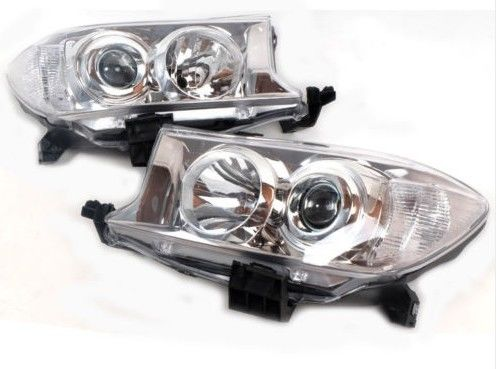 Toyota Fortuner LED Car Headlights Assembly LH RH Side Pair Standard Size